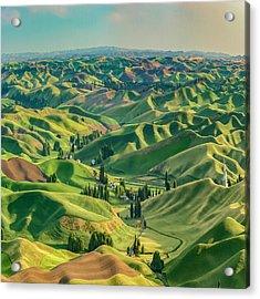 Enchanted Valley Award Winner Acrylic Print