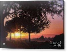 Enchanting Morning Sunrise Acrylic Print