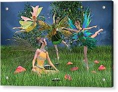 Enchanting Souls Acrylic Print