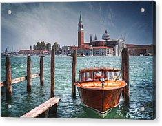 Enchanting Venice Acrylic Print by Carol Japp
