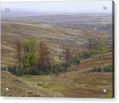 Enchantment Of The September Grasslands Acrylic Print