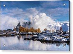 Enchantments Prusik Peak Cloudstorm Acrylic Print
