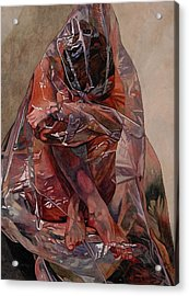 Encompassed Acrylic Print by Valerie Patterson