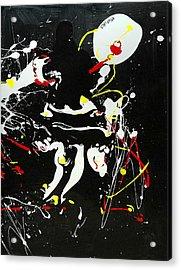 Encounter Acrylic Print by Paul Freidin