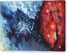 Encounter Acrylic Print by Vasco Kirov