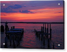 Acrylic Print featuring the photograph End Of Day by AnnaJanessa PhotoArt