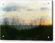 Acrylic Print featuring the photograph End Of Day At Pentwater by Michelle Calkins
