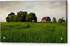 End Of Day Acrylic Print by Keith Armstrong