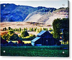 End Of Day Acrylic Print by Patricia Stalter