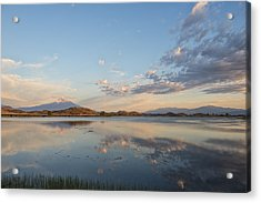 End Of Day Reflections Acrylic Print