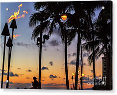 End Of The Beutiful Day.hawaii Acrylic Print