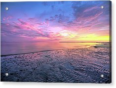 End Of The Day. Acrylic Print