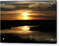 End Of The Day Acrylic Print