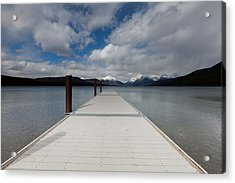 End Of The Dock Acrylic Print