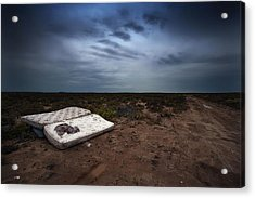 Acrylic Print featuring the photograph End Of The Earth by Tim Nichols