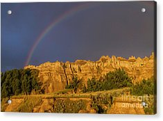 End Of The Rainbow Acrylic Print