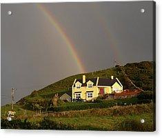 End Of The Rainbow Acrylic Print by Mike McGlothlen