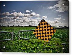 End Of The Road Acrylic Print by Michel Filion