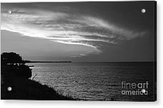 Ending The Day On Mobile Bay Acrylic Print