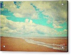 Endless Beach Acrylic Print