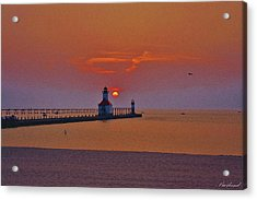 Endless Evening Acrylic Print
