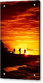 Acrylic Print featuring the photograph Endless Fiju by T Brian Jones