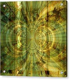 Endless Imagination Acrylic Print by Fania Simon