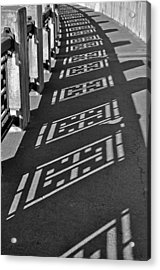 Endless Walkway Acrylic Print by John Ricker