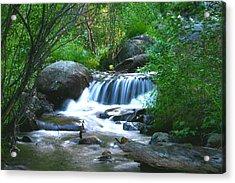 Endo Valley Waterfall Acrylic Print
