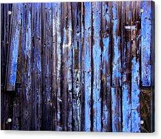 Enduring Blue Acrylic Print