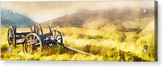 Enduring Courage - Panoramic Acrylic Print by Greg Collins