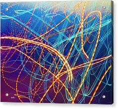 Energy Acrylic Print by Betsy Knapp