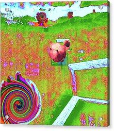 Energy Cycle No. 2 Acrylic Print