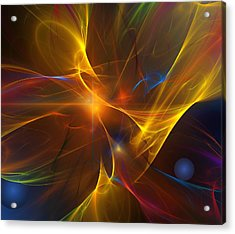Energy Matrix Acrylic Print