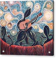 Energy Of Music Acrylic Print