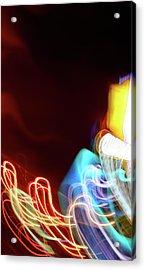 Energy Acrylic Print by Tj Evans