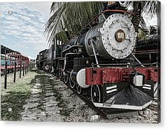 Engine 1342 Parked Acrylic Print