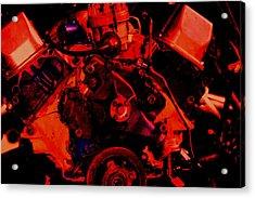 Engine 2 Acrylic Print by Lisa Johnston