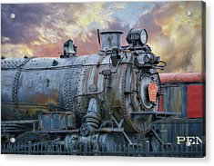 Acrylic Print featuring the photograph Engine 3750 by Lori Deiter