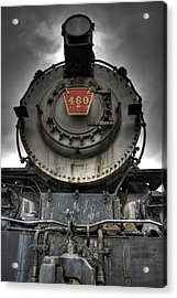 Engine 460 Front And Center Acrylic Print by Scott Wyatt