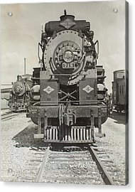 Acrylic Print featuring the photograph Engine 715 by Jeanne May