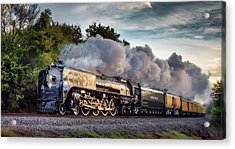 Engine 844 At The Dora Crossing Acrylic Print