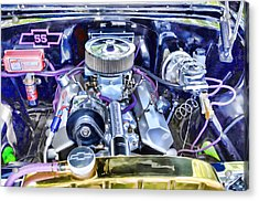 Engine Compartment 3 Acrylic Print