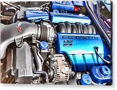 Engine Compartment 4 Acrylic Print