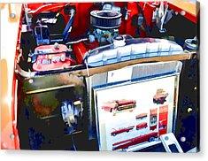 Engine Compartment 9 Acrylic Print