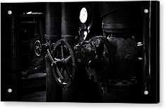 Acrylic Print featuring the photograph Engine Room by Tim Nichols