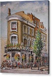 England London The Duke Of Kendal Acrylic Print by Yvonne Ayoub