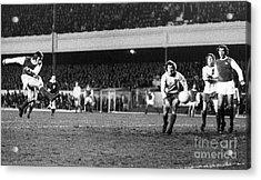England: Soccer Game, 1972 Acrylic Print by Granger