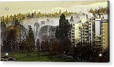 English Bay Fog #2 Acrylic Print