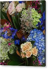 Acrylic Print featuring the photograph English Bouquet by Julie Andel